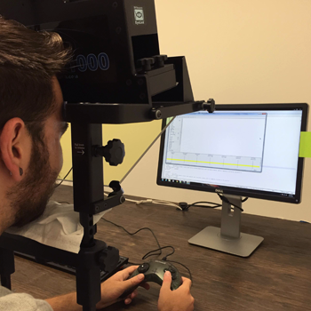 Eye tracking experiment